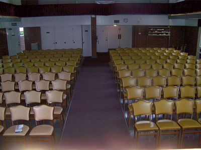 Large Chapel withOver 250 Sitting Capacity